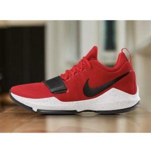 "Men's Nike PG 1 ""University Red"" (Size 10.5) NWOB*"